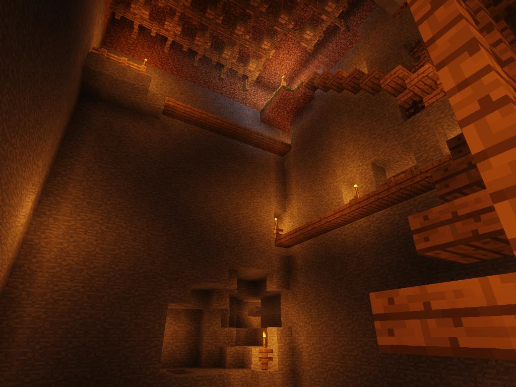 Underground mine shaft
